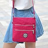 Outreo Umhängetasche Damen Schultertasche Leichter Messenger Bag Reisetasche Wasserdicht Taschen Designer Kuriertasche Mode Sporttasche für Mädchen - 4