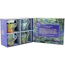 Leonardo Collection, Claude Monet, 4 Tassen im Set, Geschenkverpackung