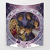 BAOQIN Tapisserie The Inner Circle Wall Tapestry Hanging Tapestries Wall Art for Living Room Bedroom Dorm Decor 80 X 60 inch