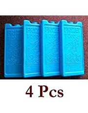 Lifestyle-You® Frizet T 200 Freezer Blocks(4 Pcs) ~ Freezer Pack ~ Ice Pack for Ice Box, Cooler Box, Camping, Picnic, Outdoors, Cars Etc.