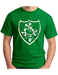 Lansdowne Irland Kleeblatt Lang/ärmlig Kinder Rugby Hemd