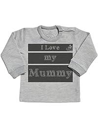 SR - I Love My Mummy Design Long Sleave Baby Sweater - Baby Sweater Gift - Baby Sweatshirt - Baby Clothing