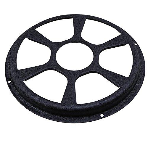Preisvergleich Produktbild POSSBAY 12 inch Auto Audio Subwoofer Abdeckung Eisen Rund Lautsprecherabdeckung