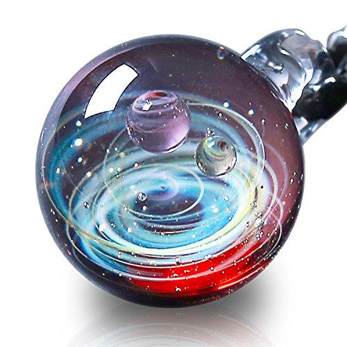 Galaxie-Schmuck - Aurora Kosmos-Design - japanische Kunst - von Kunsthandwerkern gefertigt - Geschenkidee (Juno) ()