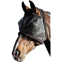 Harry \'s Horse 31300002de l Mosquitera Máscara sin orejas, L, color negro