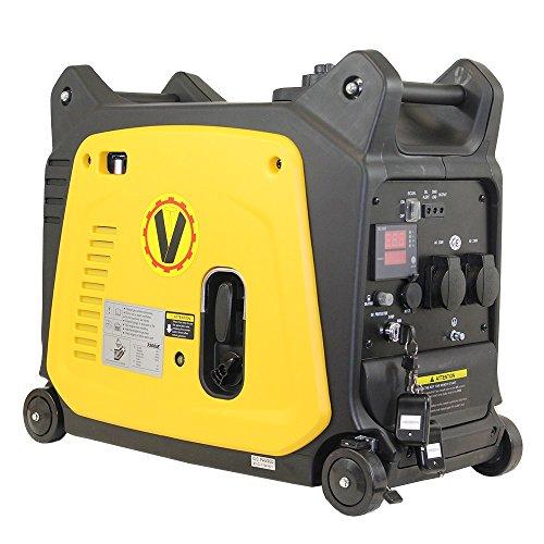 Digitaler Stromerzeuger mit Invertertechnologie Voltherr KGE3500i 3,5KVA, Generator, Inverter, Moppel, Notstromaggregat, Voltherr, Kipor; FME, Caravaning, Camping, Wohnmobil, Baustelle, Event