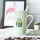 YIZHNAG YIZHANGWM-Keramik-Becher Kreative Cup-Fu?Ball-Cup