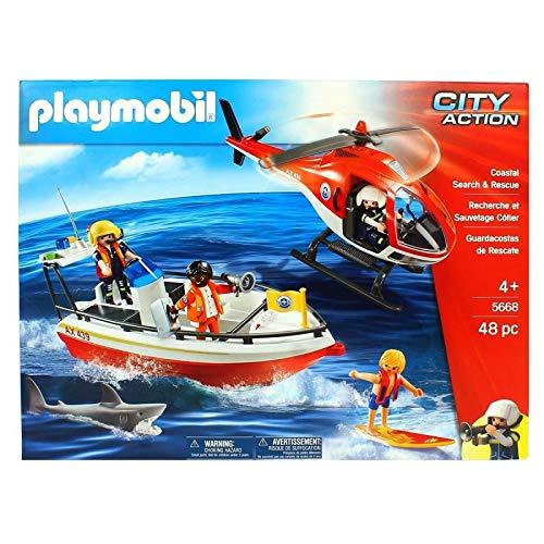 Playmobil - 5668 - Gardes-Côtes - City Action - Edition Limitée