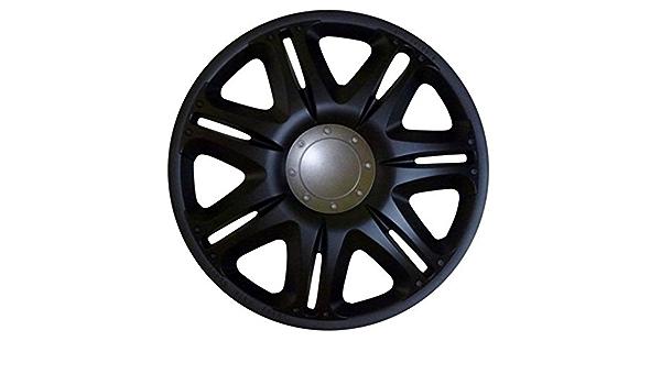 Radkappen Radzierblenden Radabdeckungen 14 Zoll 162 Black Schwarz Auto