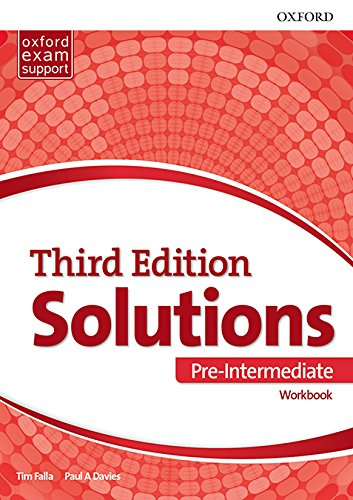 Solutions: Pre-Intermediate: Workbook: Leading the way to success
