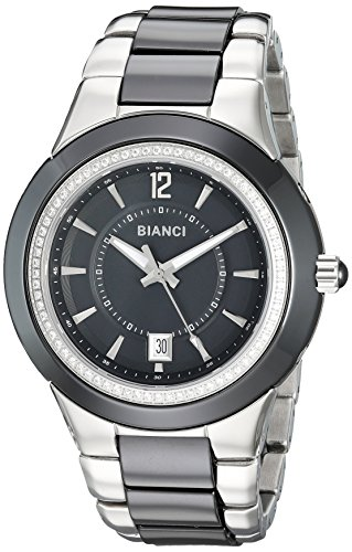 ROBERTO BIANCI WATCHES Women's 'Classico' Swiss Quartz Ceramic and Stainless Steel Casual Watch, Color:Two Tone (Model: RB27100)