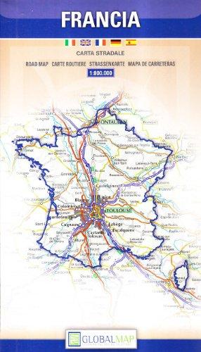 Francia 1:800.000 (Carte stradali)