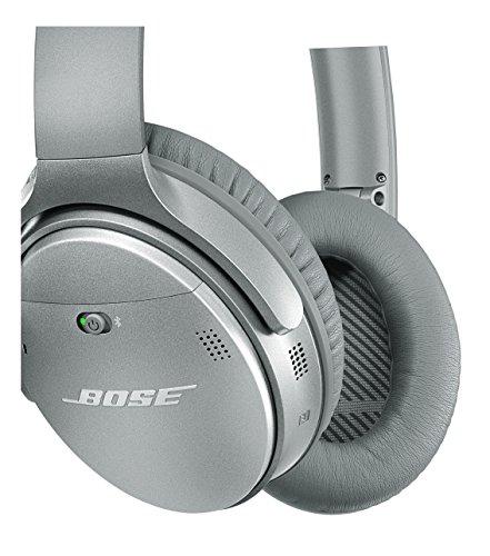 Bose ® QuietComfort 35 kabellose Kopfhörer silber - 3