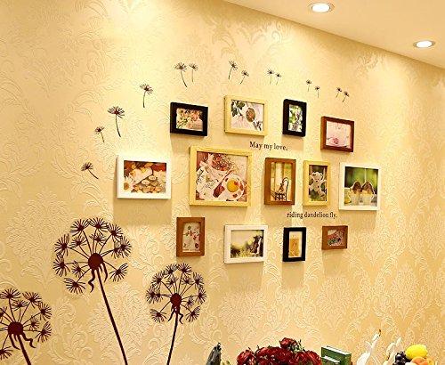 Preisvergleich Produktbild Massivholz photo wall-box im Wohnzimmer, Schlafzimmer kreative Kombination Foto wand Bilderrahmen an der Wand - die weißen Wände.