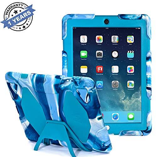 dspr iPad Fall * NEU * * Hot * Super Schützen [stoßfest] [Regendicht] [sanddicht] mit integriertem Displayschutz für Apple iPad 2/3/4,2015New Style für iPad 2/3/4 ()