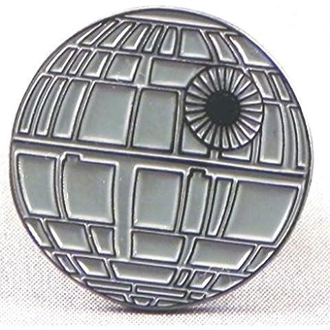 Metal Esmalte Pin Broche Star Wars (StarWars) Estrella de la muerte battlestation