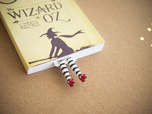 """Wicked Zauberer Witch Der Von Oz (Handgefertigtes Lesezeichen mit der bösen Hexe. Inspiriert von """"Der Zauberer von)"""