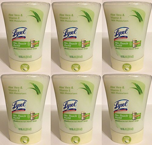 lysol-no-touch-hand-soap-refill-antibacterial-aloe-vera-vitamin-e-net-wt-85-fl-oz-251-ml-each-pack-o