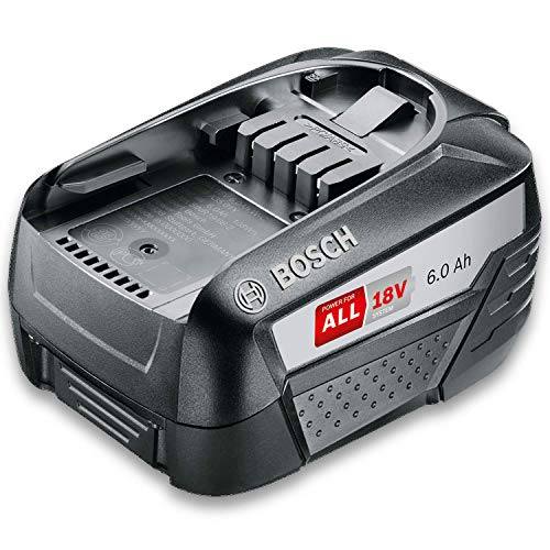 Bosch Akku Pack PBA 18V 6.0Ah W-C (18 Volt System, 6.0Ah Batterie, im Karton)