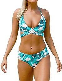 VALIN S410164 femme Bandage deux pièces Maillot de bain Trikini