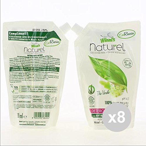 Set of 8winni' S Winni S Soap Underwear Detergent 500ml ecoricarica The Green Soaps
