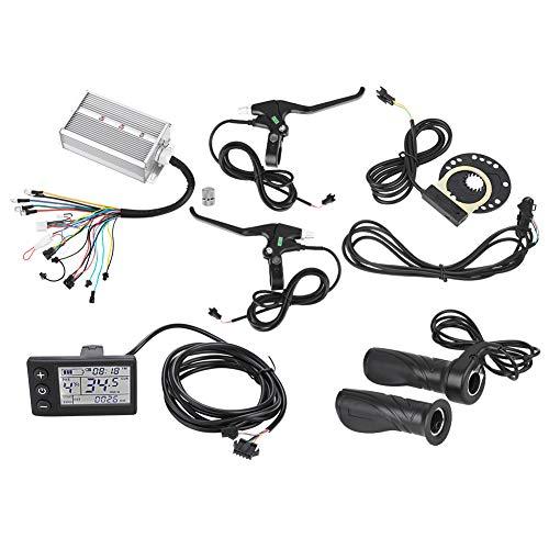 Dioche Motor Controller Kit, 36 V / 48 V 1500 Watt Elektrische Brushless Controller LCD Panel Kit für E-Bike Elektro Bike Roller