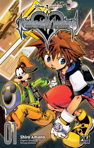 Kingdom Hearts Chain of Memories Nouvelle edition Tome 1