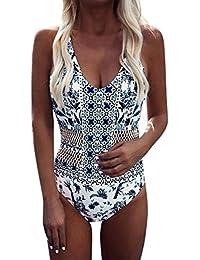 Traje de Baño de Una Pieza Para Mujer ❤ LILICAT® Bikinis Ropa de Baño Hueco Sólido de la Moda 2018, Bikini…