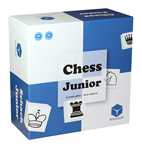 CubesArt-Chess-Junior-Schachspiel-fr-Kinder-mit-Eltern-Kind-Spielanleitung-blau