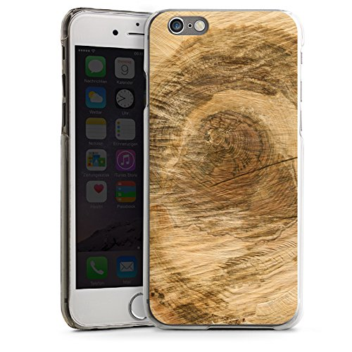 Apple iPhone 4 Housse Étui Silicone Coque Protection Tronc d'arbre Look bois Arbre CasDur transparent