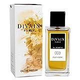 DIVAIN-003 / Similar a CH Men de Carolina Herrera / Agua de perfume para hombre, vaporizador 100 ml