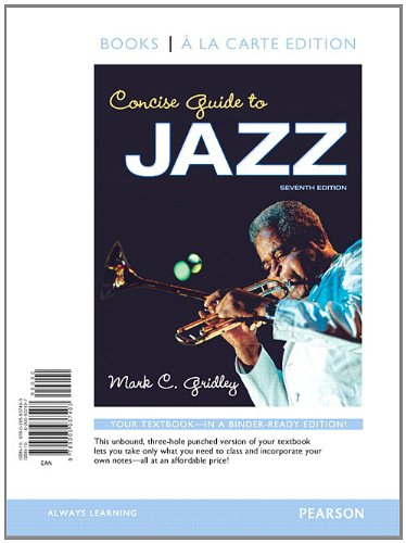 Concise Guide to Jazz with Student Access Code (Books a la Carte)