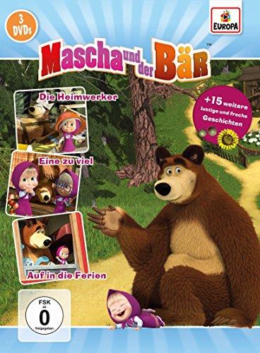 Mascha und der Bär 3er-Box 2 (Folgen 5, 6, 7) [3 DVDs] -