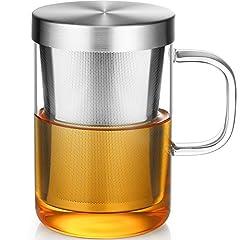 Ecooe 500ml volle Kapazität  Glas Tasse