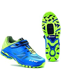 Zapatillas Northwave Spider 2 Azul-Amarillo 2016