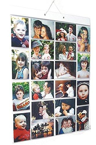 Picture Pocket PPR001 Taschen Large A, Wohnung Hängen Fotogalerie, 20 Reversible -