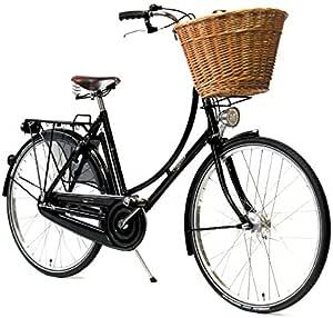 Nero-L Gonna da Ciclismo da Donna per Sport