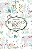 internet password book logbook: Premium Password Journal To Keep Track of Logins, Usernames and Passwords - password book design no.29 Notebook & Password Keeper