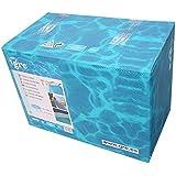 Manufacturas Gre FPROV730 - Liner para piscinas ovaladas, 730 x 375 cm altura 120 cm, color azul