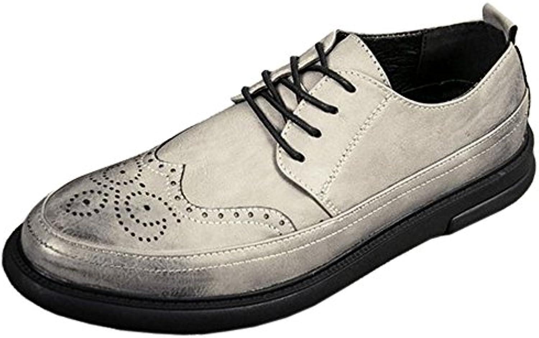 COOLCEPT Clasico Zapatos Oxford Hombre Cordones