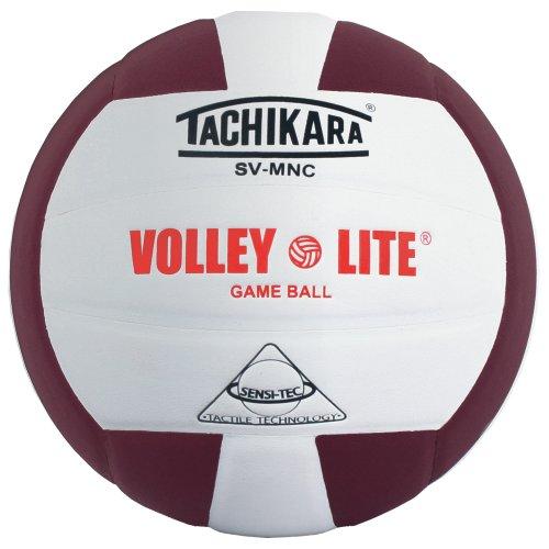 ey Lite Volleyball (schwarz/weiß), Unisex, SV-MNC-CRD/Wht, Cardinal/White, Einheitsgröße ()