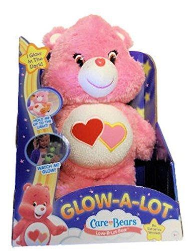 Care Bears Glow-A-Lot Love Plush by Care Bears