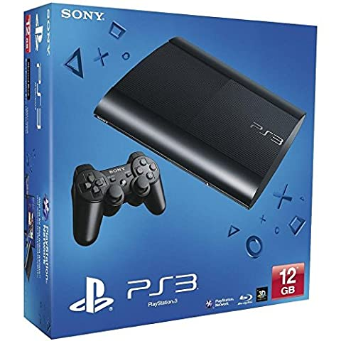 Console PS3 Ultra slim 12 Go noire