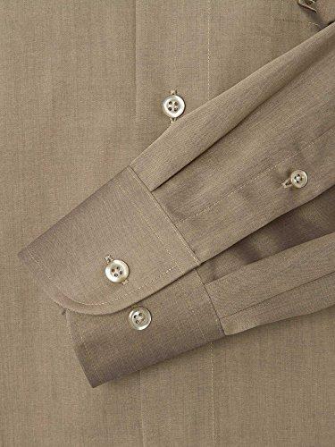 CASAMODA Messieurs Chemise d'affaires 006062 manche 72 cm regular fit grège