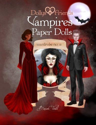 Dollys and Friends, Vampires Paper Dolls: Wardrobe No: 11 -
