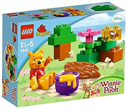 LEGO DUPLO - Winnie - 5945 - Jouet Premier Age - Le Pique - Nique de Winnie
