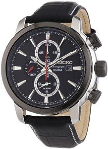 Seiko Reloj SNAF47P2 Negro de Relojitos Euromediterránea