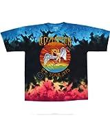 Liquid Blue LED ZEPPELIN ICARUS Tie-Dye T-Shirt sizes S - 6XL