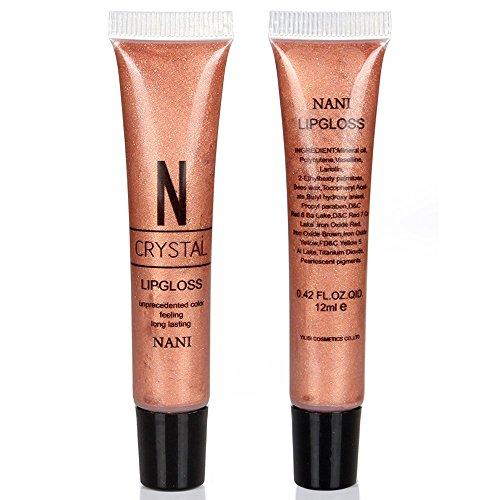 NANI Petite Sexy Nude Couleur Hydratant Lip Gloss Diamant Brillant Liquid Lip Gloss Or