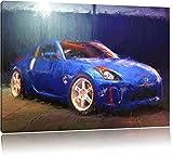 Nissan 350Z Format: 120x80 sur toile, énorme XXL Photos complètement encadrée avec civière, art impression sur murale avec cadre, moins cher que la peinture ou la peinture à l'huile, aucune affiche ou un poster
